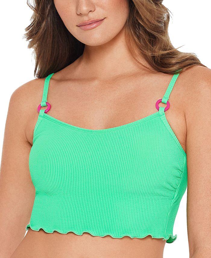 Salt + Cove - Juniors' Ruffled Bikini Top, Available in D/DD