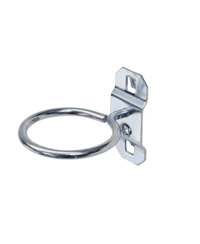 """Triton Products Lochook 2..5"""" Single Ring 1.75"""" ID Tool Holder for Locboard, 5 Pack"""