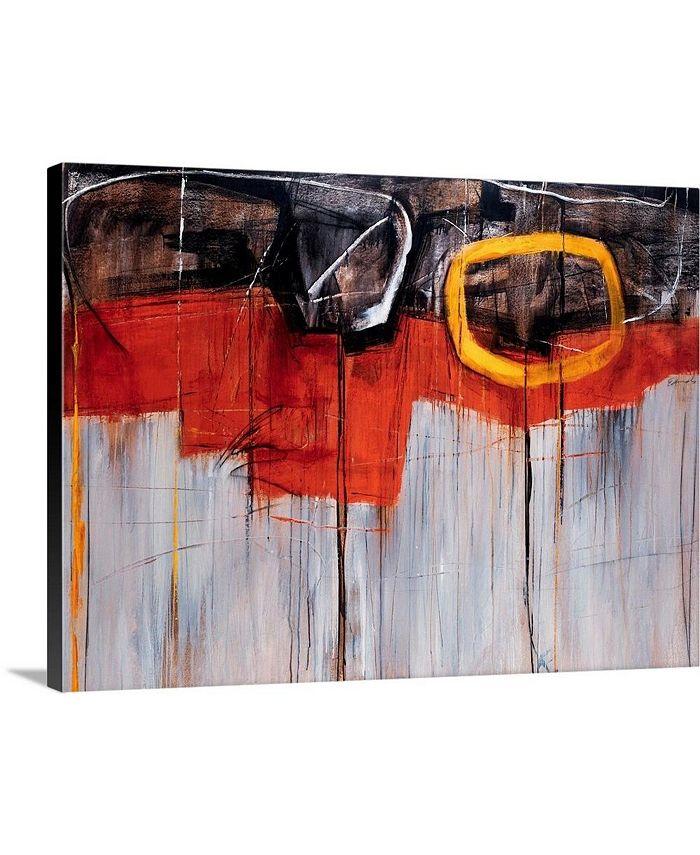 "GreatBigCanvas - 40 in. x 30 in. ""Golden Rule"" by  Sydney Edmunds Canvas Wall Art"
