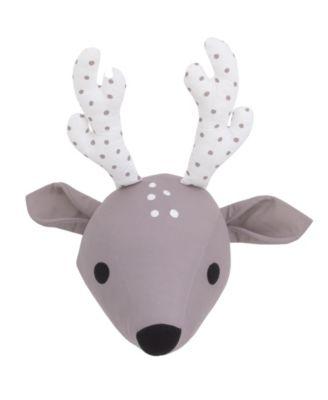 Deer Plush Head Wall Décor