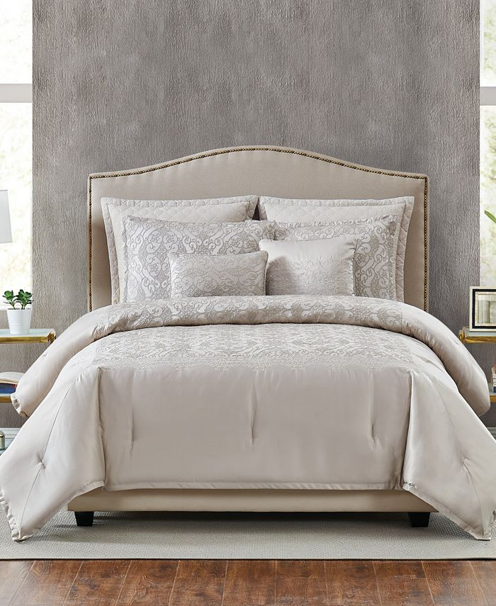 Pem America - 5th Avenue Lux Riverton 7-Piece King Comforter Set