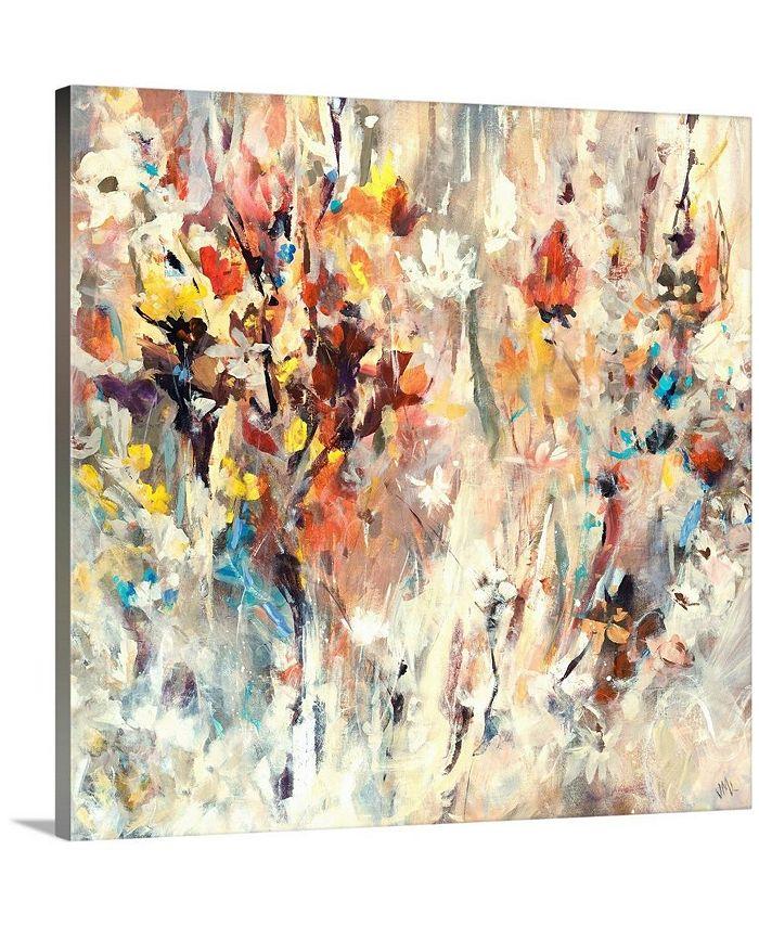 """GreatBigCanvas - 36 in. x 36 in. """"Courtyard"""" by  Jodi Maas Canvas Wall Art"""