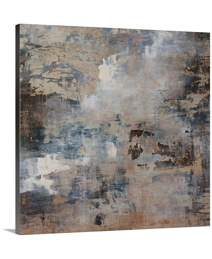 "GreatBigCanvas - 36 in. x 36 in. ""Ice Flow"" by  Alexys Henry Canvas Wall Art"