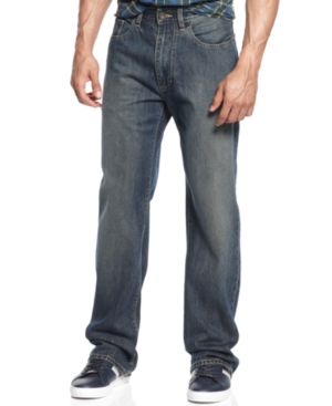 Sean John Jeans Hamilton Indigo New World Medium Wash Jeans
