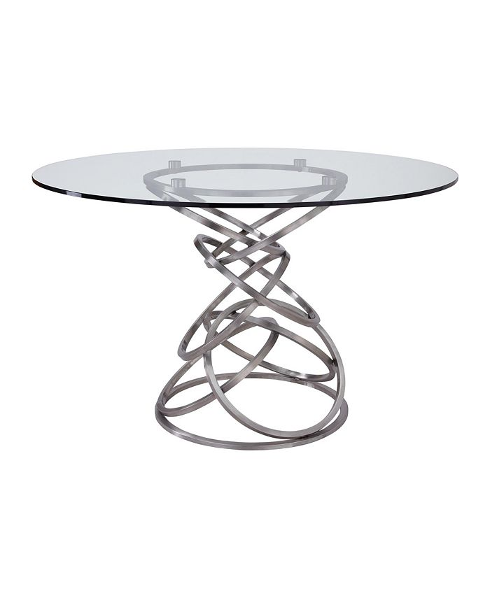 Armen Living - Wendy Glass Dining Table