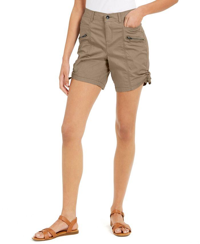 Style & Co - Zip-Pocket Cargo Shorts