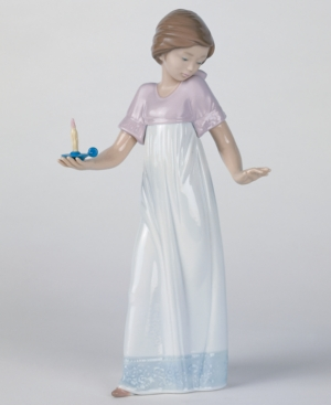Nao by Lladro Collectible Figurine, To Light the Way