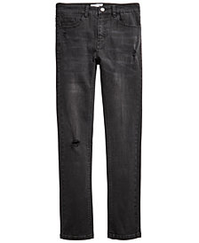 Ring of Fire Big Boys Tumble Skinny-Fit Stretch Destroyed Jeans, Created for Macy's