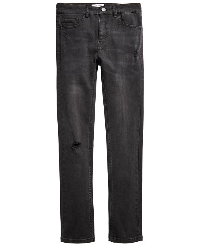 Ring of Fire - Big Boys Tumble Skinny-Fit Stretch Destroyed Jeans