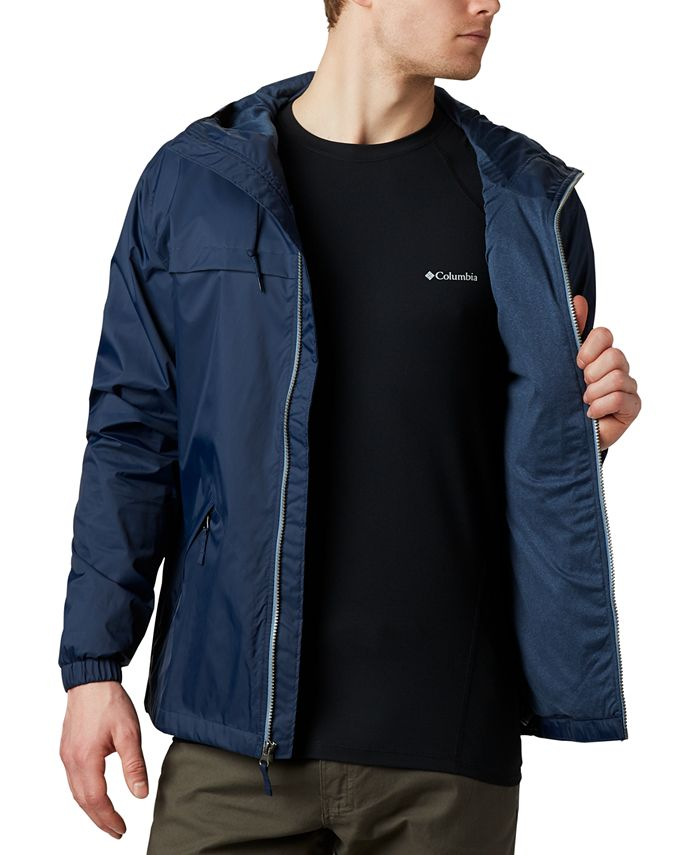 Columbia - Men's Oroville Creek Lined Hooded Rain Jacket