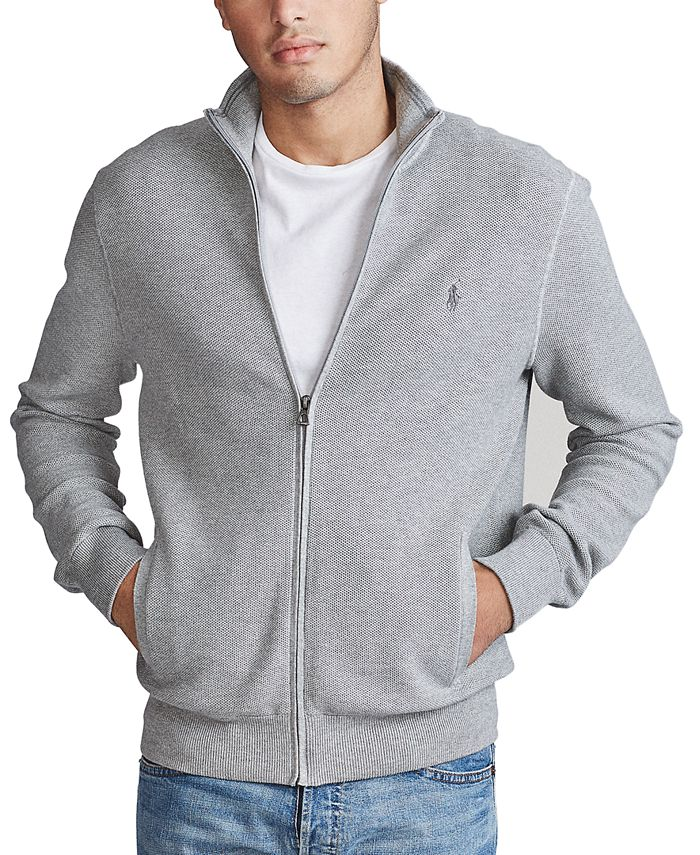 Polo Ralph Lauren - Men's Cotton Full-Zip Sweater