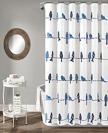 "Rowley Birds 72"" x 72"" Shower Curtain"