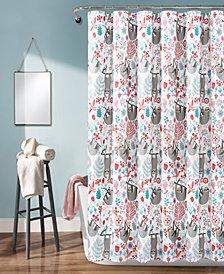 "Hygge Sloth 72"" x 72"" Shower Curtain"