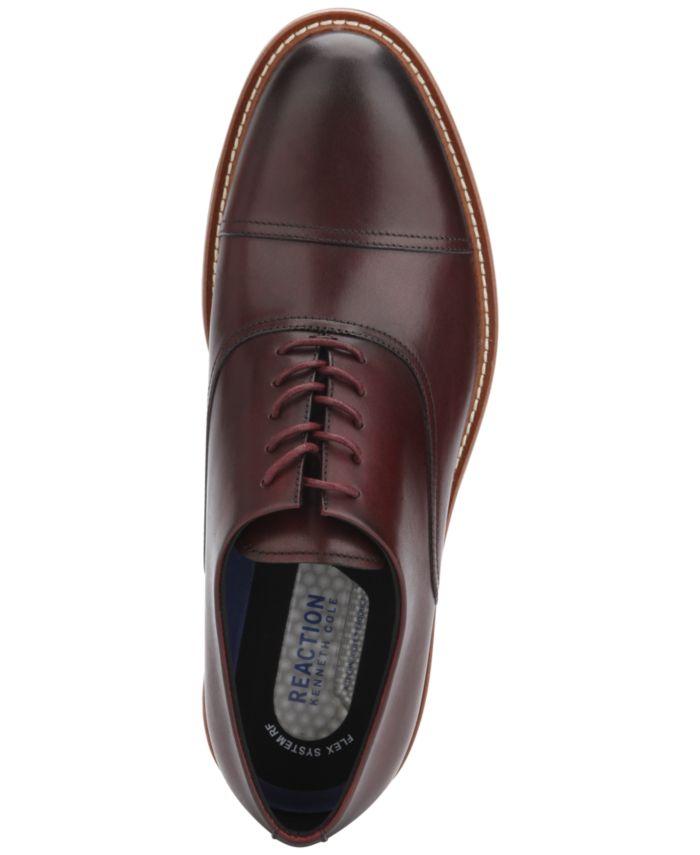 Kenneth Cole Reaction Men's Klay Flex Cap-Toe Oxfords & Reviews - All Men's Shoes - Men - Macy's