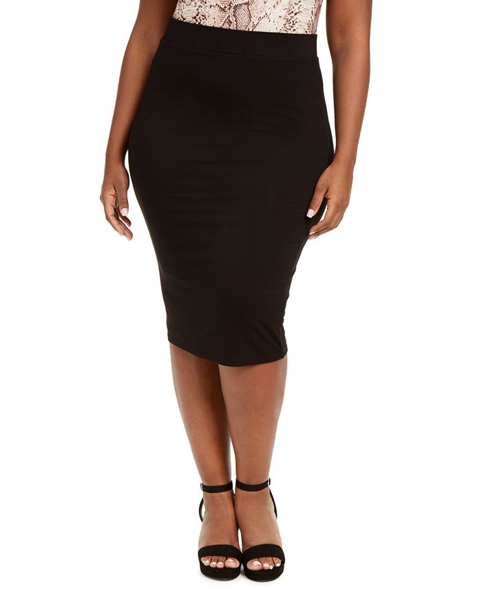 Bar III - Bodycon Midi Skirt