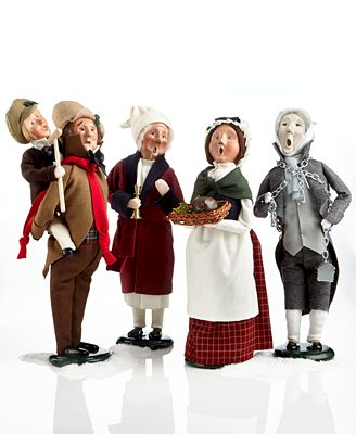Byers Choice Collectible Figurines Christmas Carol