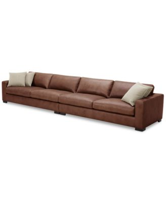 Chelby 2-Pc. Leather Sofa
