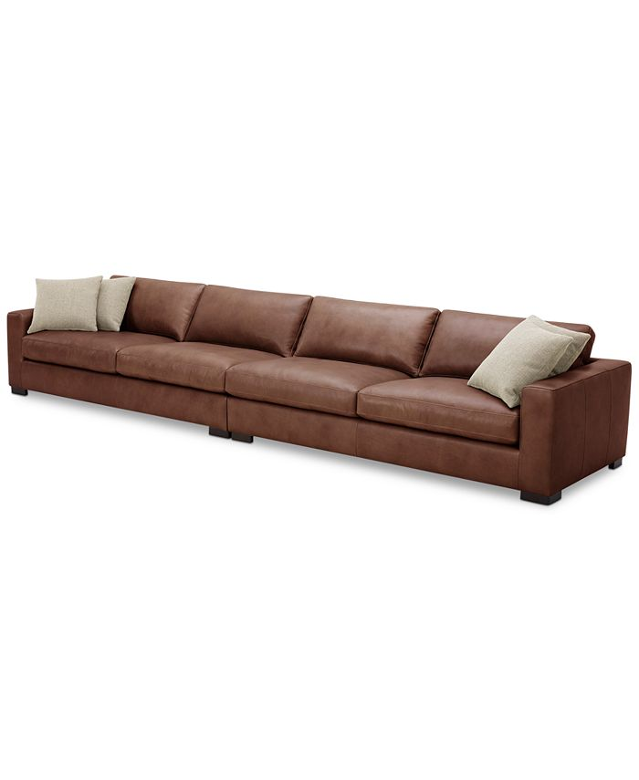 Furniture - Chelby 2-Pc. Leather Sofa