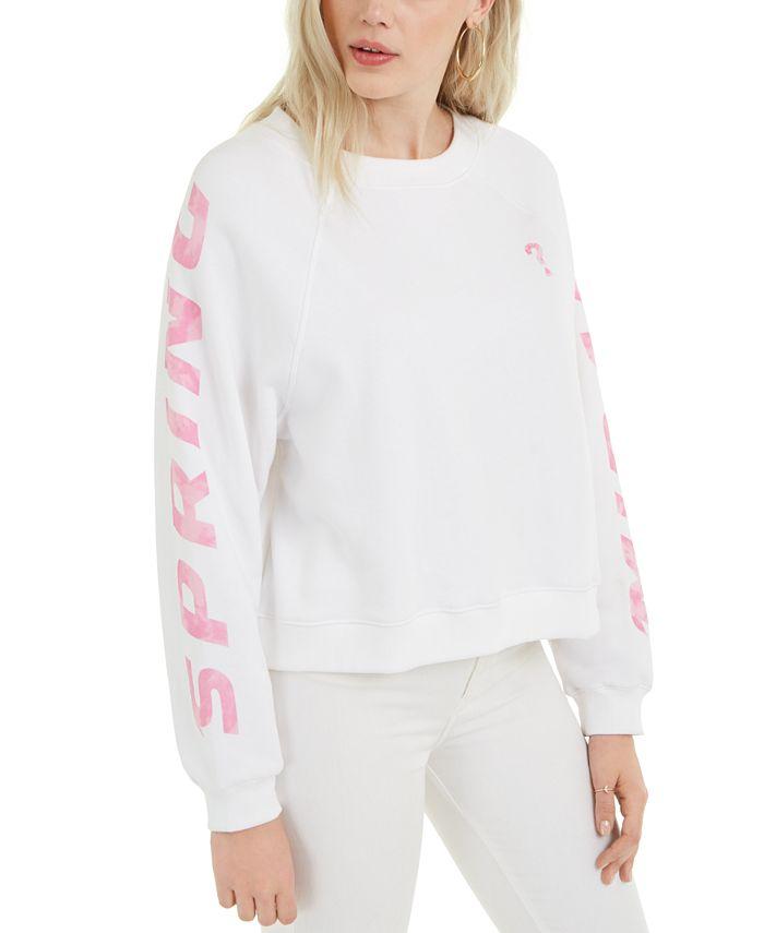 GUESS - Jana Fleece Graphic Sweatshirt