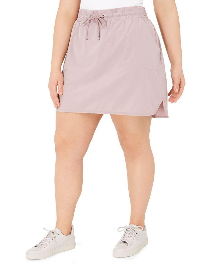 Ideology - Plus Size Drawstring Skirt