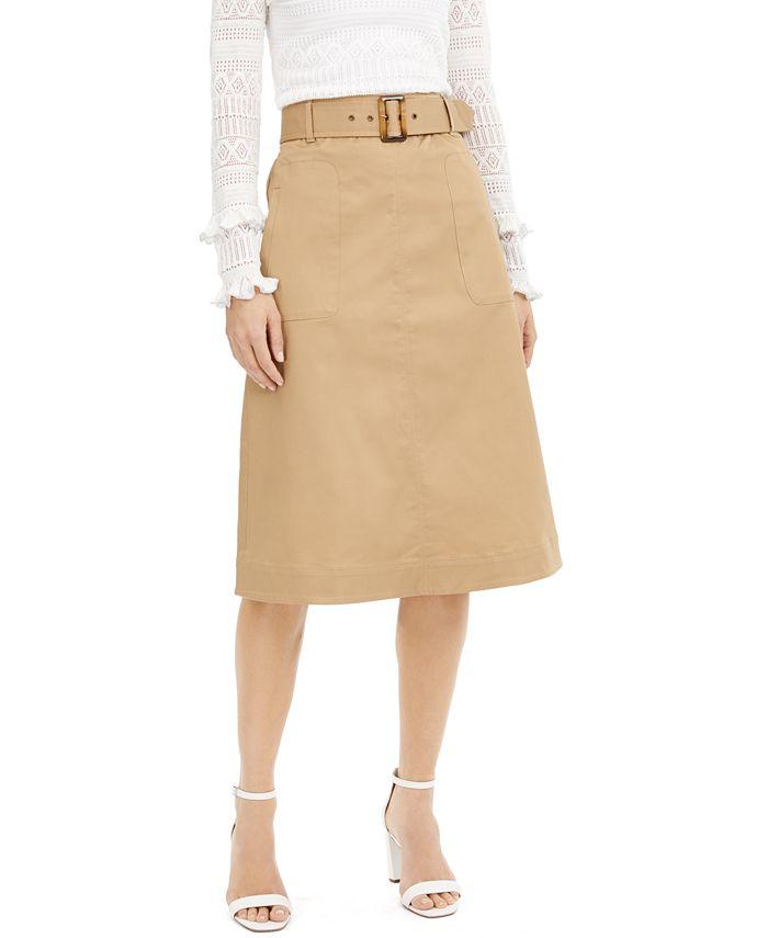 INC International Concepts - Utility Midi Skirt