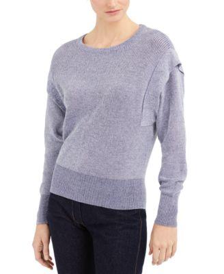 INC Acid-Wash Sweater, Created for Macy