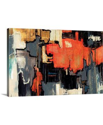"""36 in. x 24 in. """"Dalliance"""" by  Joshua Schicker Canvas Wall Art"""