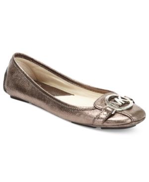 MICHAEL Michael Kors Fulton Moc Flats Womens Shoes