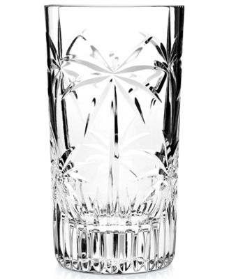 Godinger Glassware, Set of 4 Palm Highball Glasses