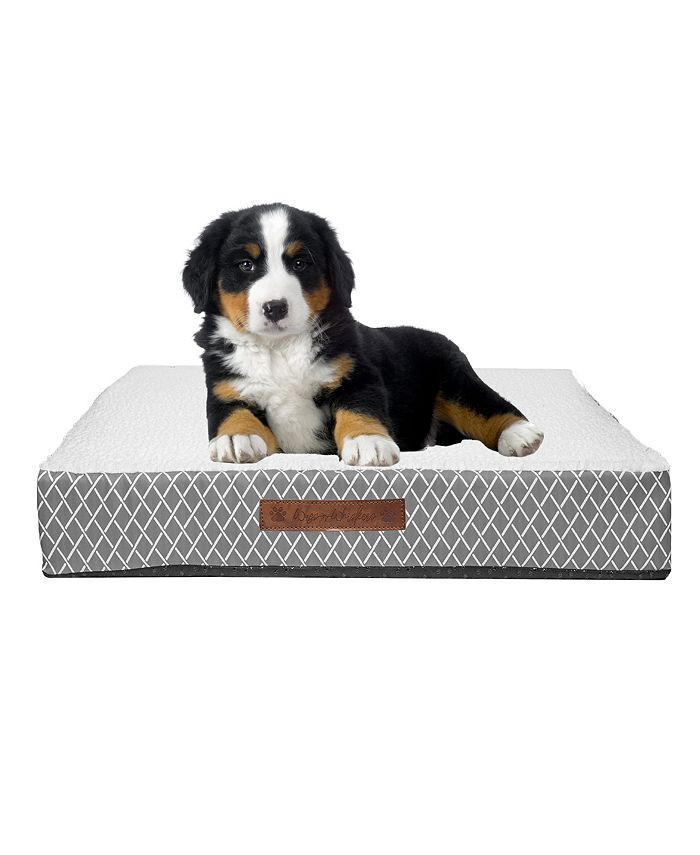 Wags n Whiskers - Atkins Lattice Small Orthopedic Pet Bed