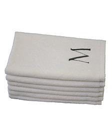 Talesma Monogram 6-Pc. Turkish Cotton Guest Towel Set