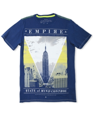 Marc Ecko Cut  Sew Shirt Short Sleeve Empire State TShirt