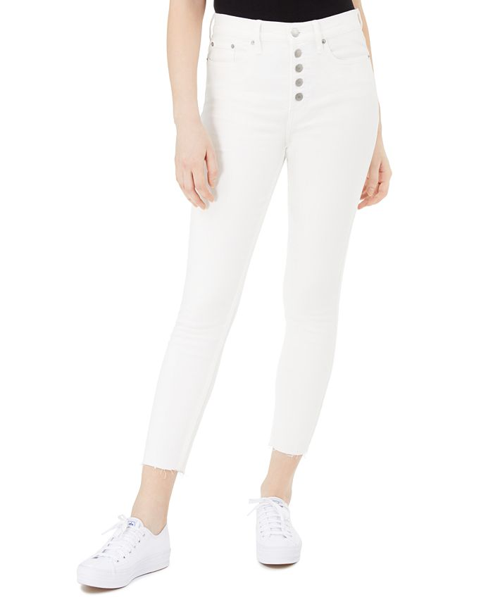 Calvin Klein Jeans - Button-Fly Ankle Skinny Jeans