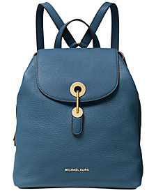 MICHAEL Michael Kors Raven Leather Backpack