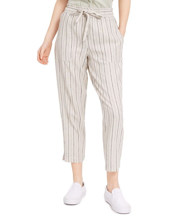 Indigo Rein - Juniors' Striped Pull-On Pants