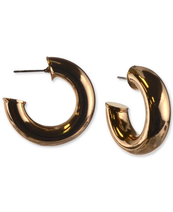 "Charter Club - Small Tubular Hoop Earrings, 1"""