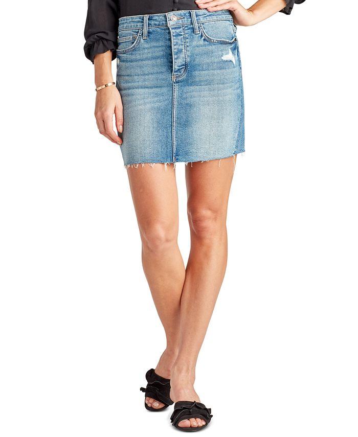Sam Edelman - The Jenny Denim Mini Skirt