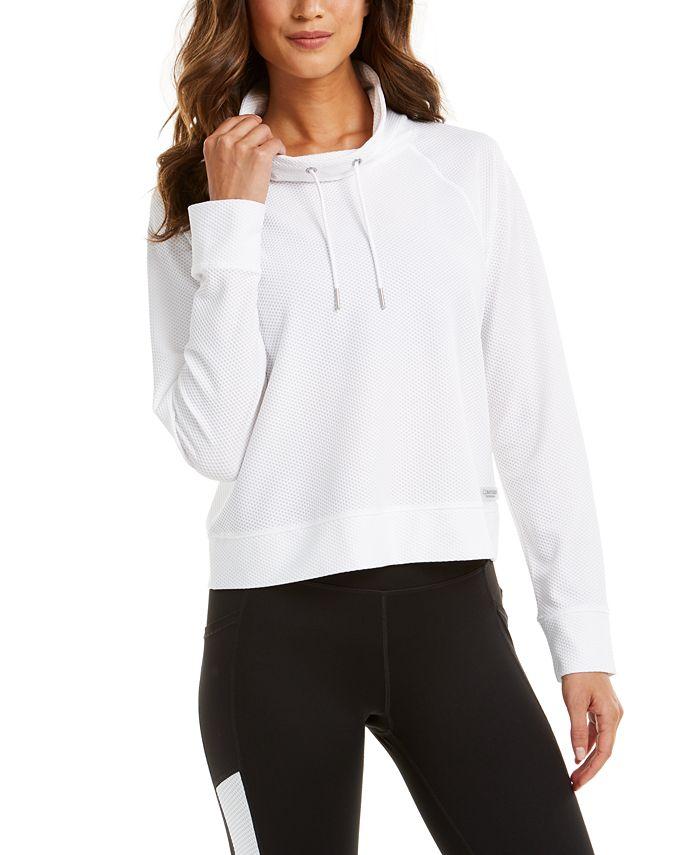 Calvin Klein - Funnel-Neck Sweatshirt