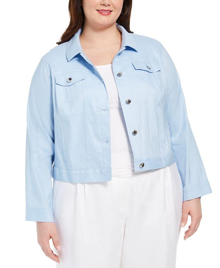 Calvin Klein - Plus Size Trucker Jacket
