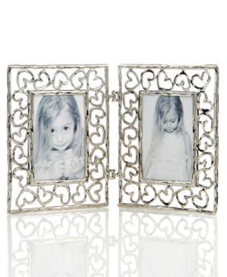 michael aram heart 2 x 3 double frame - Michael Aram Frame