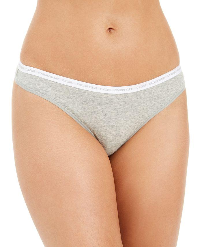 Calvin Klein - Women's CK One Cotton Singles Thong QD3783