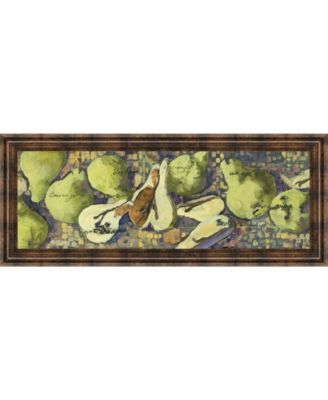 Sparkling Pears Il by Silvia Rutledge Framed Print Wall Art - 18