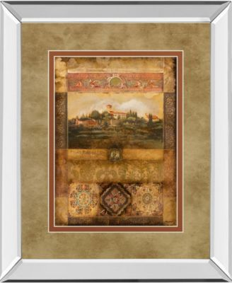 Centimento II by Douglas Mirror Framed Print Wall Art, 34