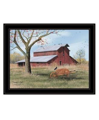 Summer's End by Billy Jacobs, Ready to hang Framed Print, Black Frame, 27
