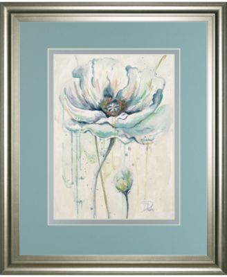 Fresh Poppies Il by Patricia Pinto Framed Print Wall Art - 34