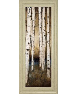 Birch Landing I by St Germain Framed Print Wall Art - 18
