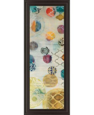 Casa Blanca Panel I by Jeni Lee Framed Print Wall Art - 18
