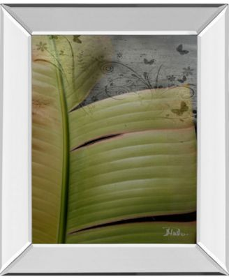Butterfly Palm I by Patricia Pinto Mirror Framed Print Wall Art, 22