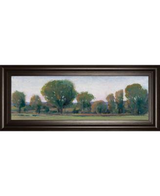 Panoramic Treeline Il by Tim Otoole Framed Print Wall Art - 18