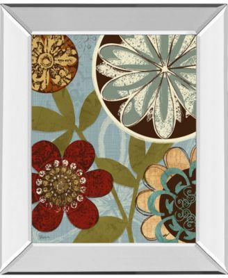 Persian Garden II by Katrina Craven Mirror Framed Print Wall Art, 22